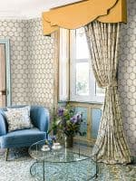 Angel Strawbridge Chateau Honeycomb Bees Cream Wallpaper